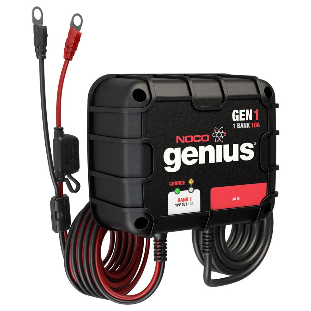 NOCO GENIUS GEN1 10A ONBOARD BATTERY CHARGER - 1 BANK