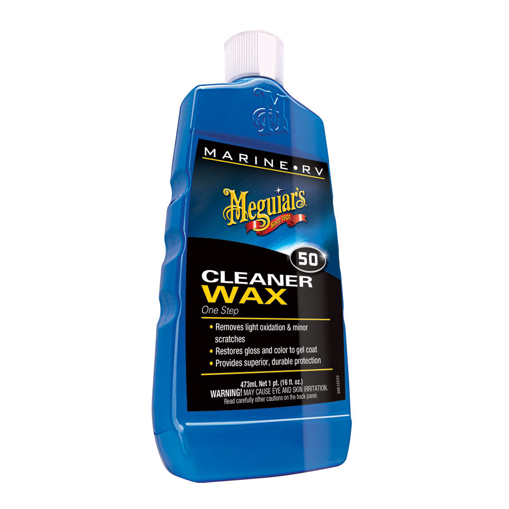 MEGUIAR'S #50 BOAT/RV CLEANER WAX - LIQUID 16OZ