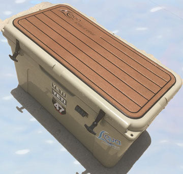 Aqua Marine Cooler Pad for Yeti 75