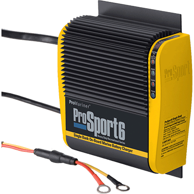 ProMariner ProSport 6, 12V 6A, 1 Bank Battery Charger