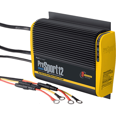 ProMariner ProSport 12, 12V 12A, 2 Bank Battery Charger