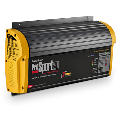 ProMariner ProSport 20, 12V/24V 20A, 2 Bank Battery Charger