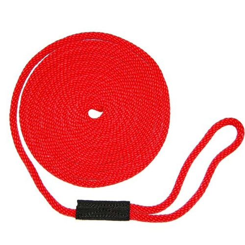 Softlines Boat Mooring Line - Red