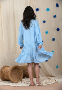Be Like Cloud Tunic Dress