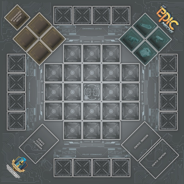 Tiny Epic Mechs - Game Mat