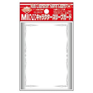 Sleeves KMC: Small Character Guard Clear with Florals (x60)