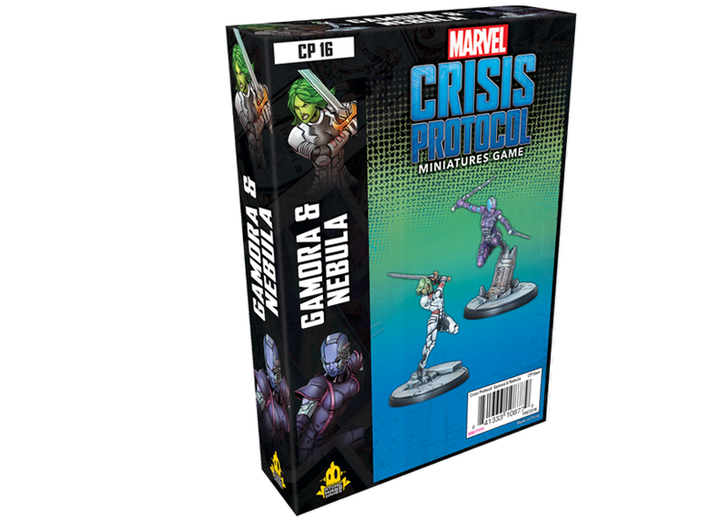 Marvel: Crisis Protocol - Gamora and Nebula