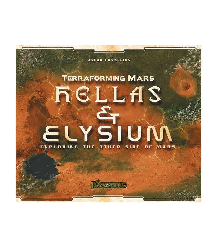 Terraforming Mars - Hellas and Elysium