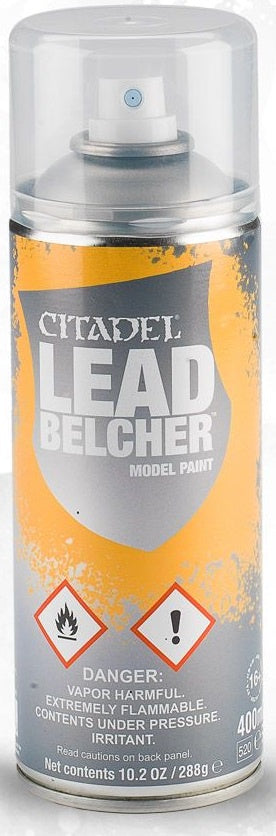 Citadel: Spray Primers, Leadbelcher