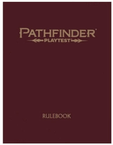 Pathfinder (2nd. Ed.) RPG: Playtest - Rulebook (Special Ed.)