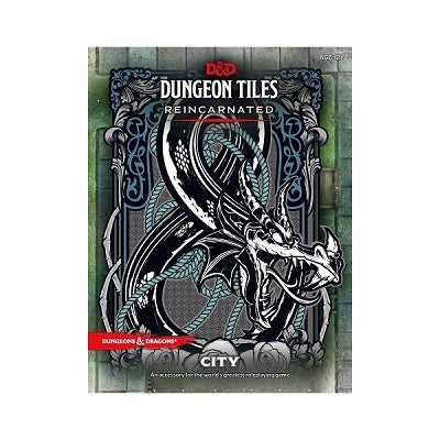 D&D RPG: Dungeon Tiles - City (Reincarnated)