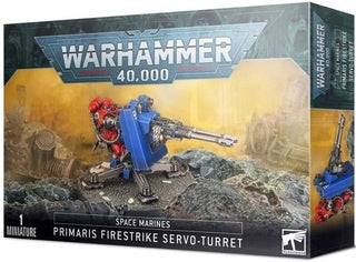 WH 40K: Space Marines - Firestrike Servo Turret