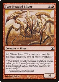 Two-Headed Sliver [Time Spiral]