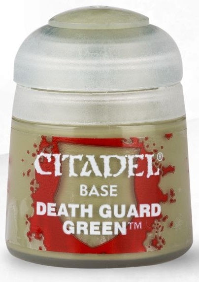 Citadel: Base Paints, Death Guard Green (صبغ المجسمات)