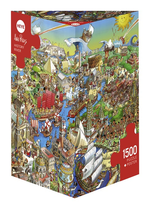 Puzzle HY: History River (1500 Pieces)