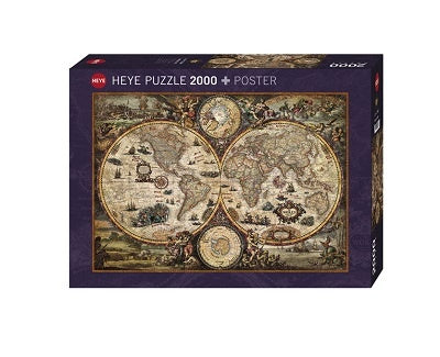 Puzzle HY: Rajko Zigic - Vintage World (2000 pcs)