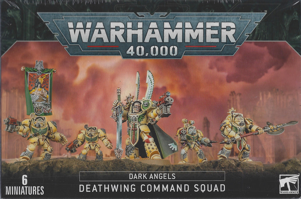 WH 40K: Dark Angels - Deathwing Command Squad