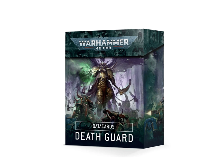 WH 40K: Death Guard - Datacards (9th Ed.)