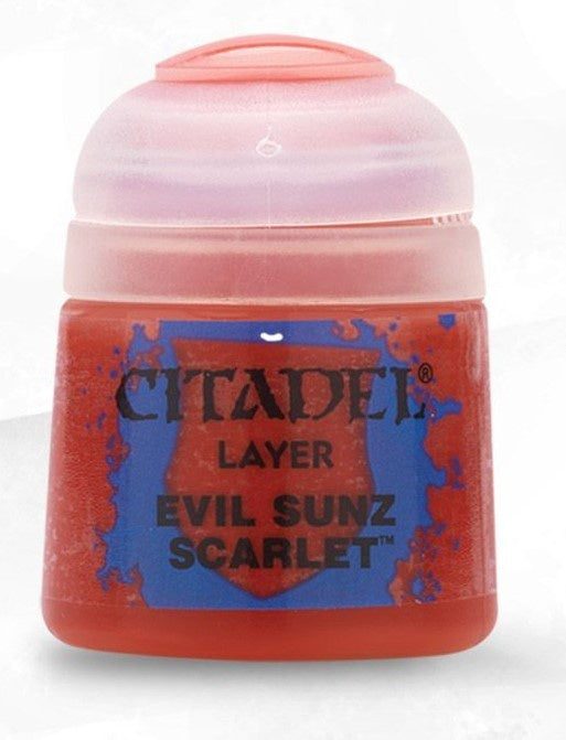 Citadel: Layer Paints, Evil Sunz Scarlet