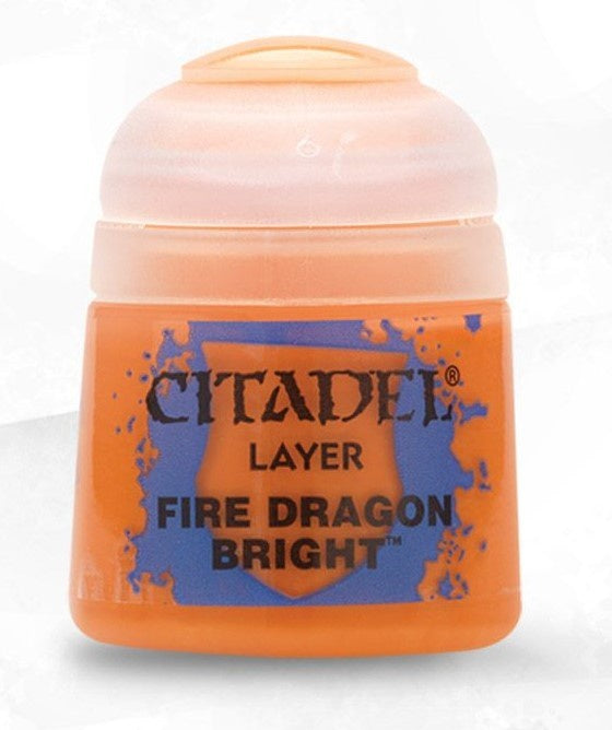 Citadel: Layer Paints, Fire Dragon Bright