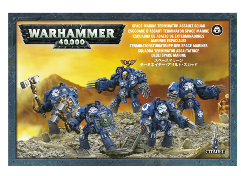 WH 40K: Space Marines - Terminator Assault Squad