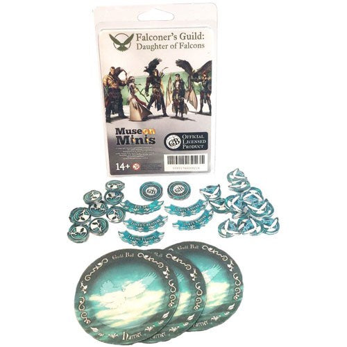 Guild Ball: Falconer - Falcons Tokens