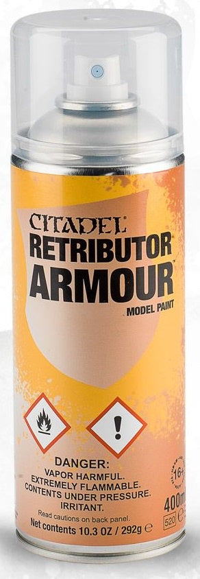 Citadel: Spray Primers, Retributor Armour
