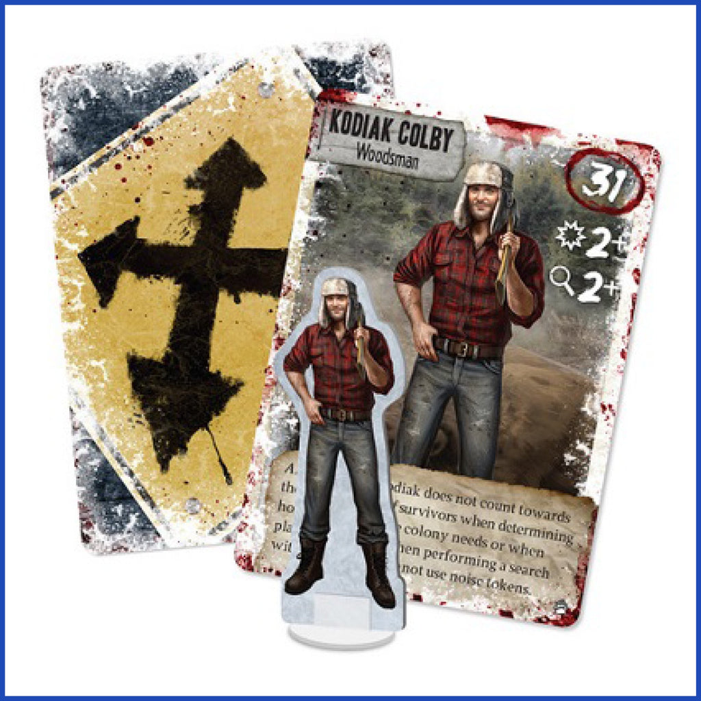 Dead of Winter: Promo Character - Kodiak Colby