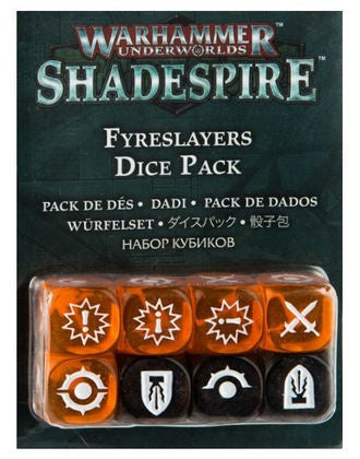 WH Underworlds: Shadespire - The Chosen Axe Dice Set (إضافة للعبة المجسمات)