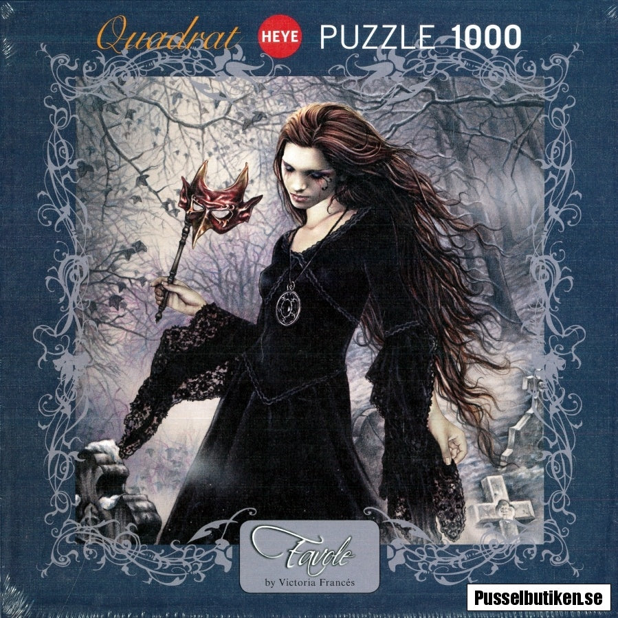 Jigsaw Puzzle: HEYE - Favole - New Black (1000 Pieces)
