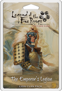 L5R (LCG) - The Emperor's Legion Clan Lion