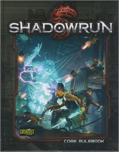 Shadowrun (5th Ed.) RPG: Core Rulebook