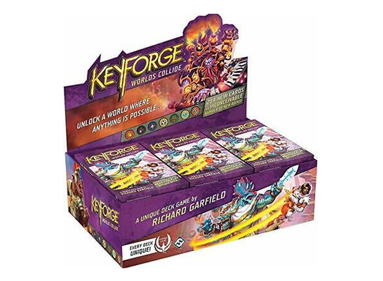 KeyForge: Worlds Collide - Archon Deck (Display)