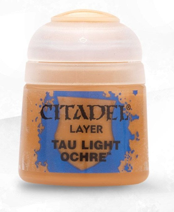 Citadel: Layer Paints, Tau Light Ochre