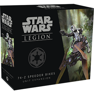 Star Wars: Legion - Galactic Empire - 74-Z Speeder Bikes
