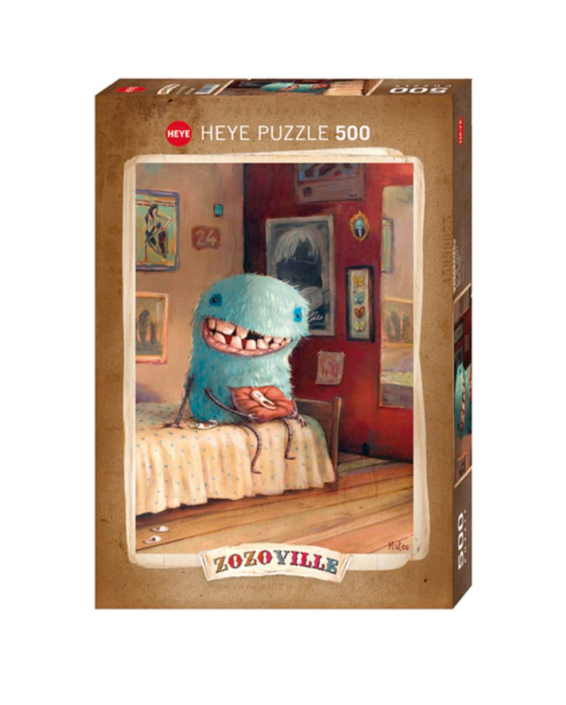 Jigsaw Puzzle: HEYE - Zozoville - Milk Tooth (500 pcs)