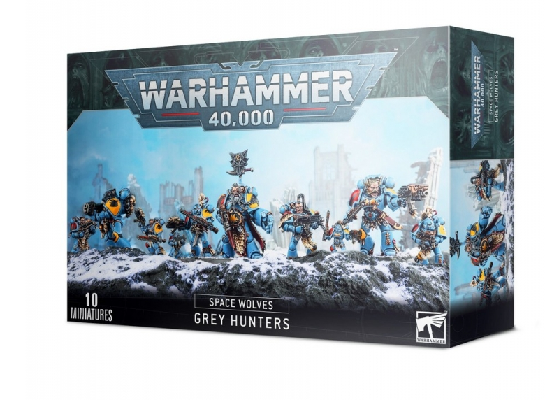 WH 40K: Adeptus Astartes -Space Wolves Grey Hunters