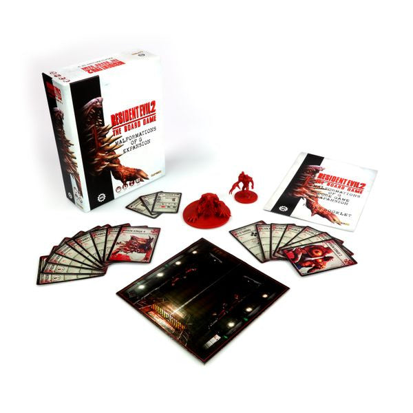 Resident Evil 2: The Board Game - Malformations of G Core Game