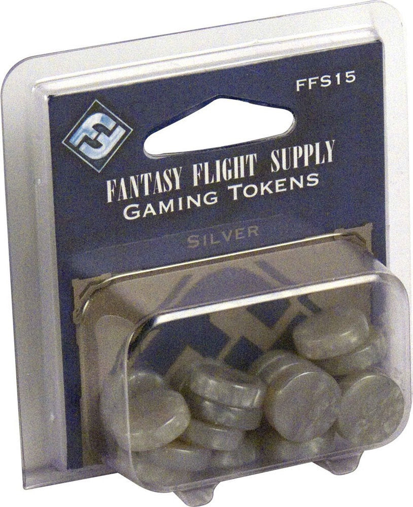 Accessory FFG: Gaming Tokens - Silver