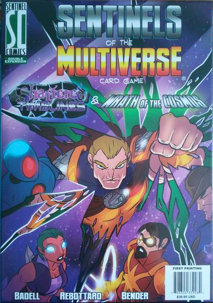 Sentinels of the Multiverse - Shattered Timelines & Wrath of the Cosmos (إضافة لعبة)