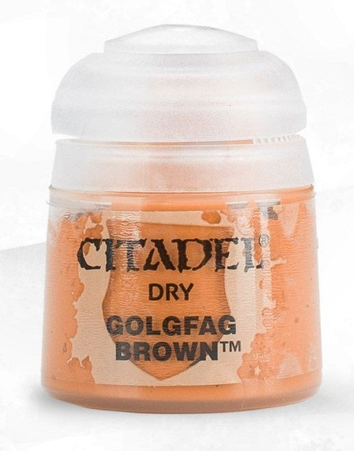 Citadel: Dry Paints, Golgfag Brown