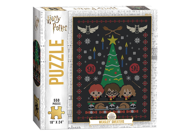 Jigsaw Puzzle: The OP - Harry Potter - Weasley Sweaters (550 Pieces)