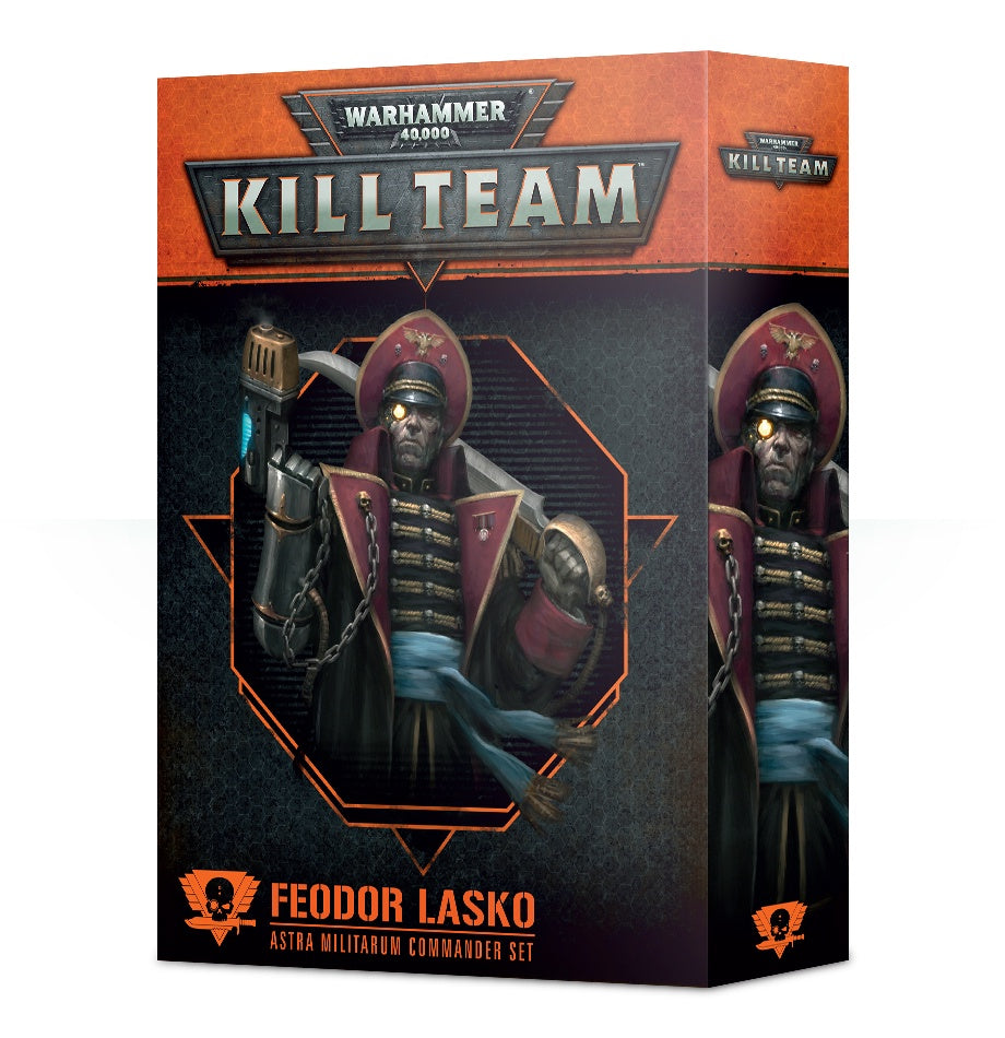 WH 40K: Kill Team - Commander Feodor Lasko