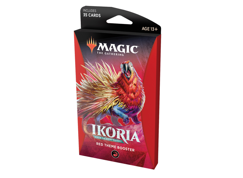 MTG: Ikoria - Lair of Behemoths [Theme Booster] - Red
