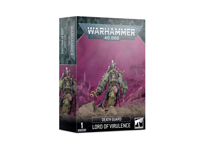 WH 40K: Death Guard - Lord Of Virulence