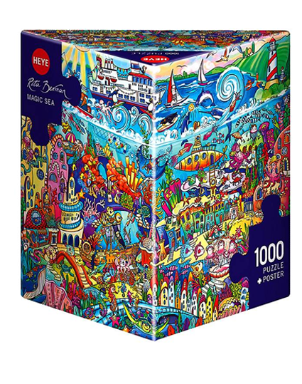Jigsaw Puzzle: HEYE - Berman Magic Sea (1000 Pieces)