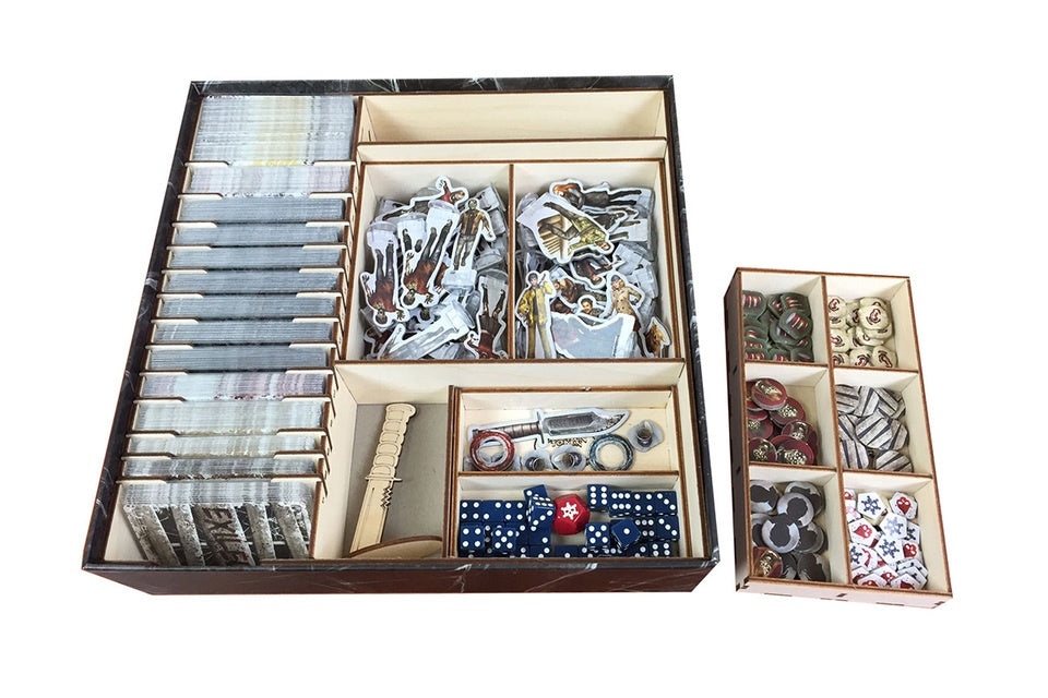 Accessories Board Games: Broken Token - Dead of Winter Organizer