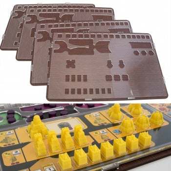 Accessories Board Games: Blackfire - Overlay - Gaia Project (x4)