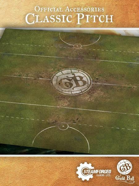 Guild Ball - Play Mat: Classic Pitch