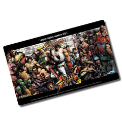 Playmat: Jasco - Street Fighter - Full Cast